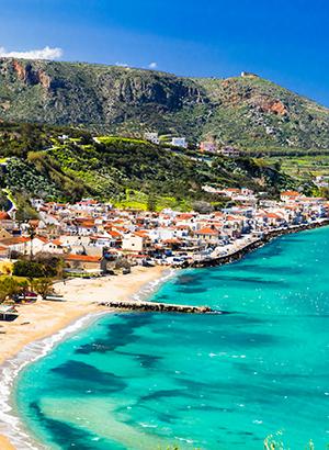 Zon in mei: Kreta