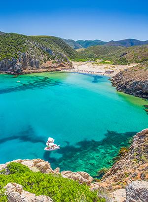 Zon in mei: Sardinië