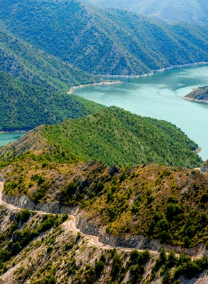 Zonvakantie Macedonië, natuur