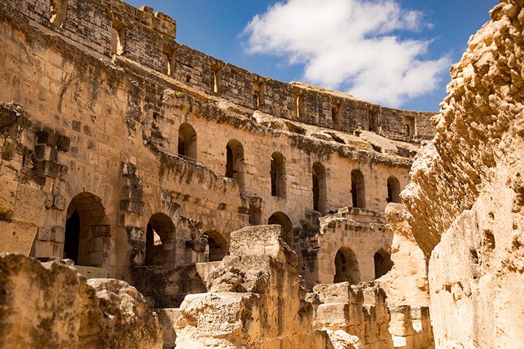 Amfitheater El Jem, Tunesië