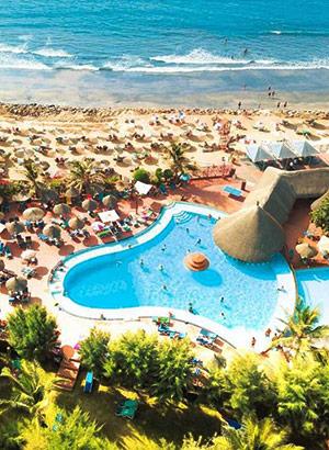 Favoriete hotels in Gambia; Senegambia Beach Hotel