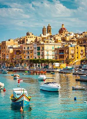 Vakantiegeld bestemmingen: Malta