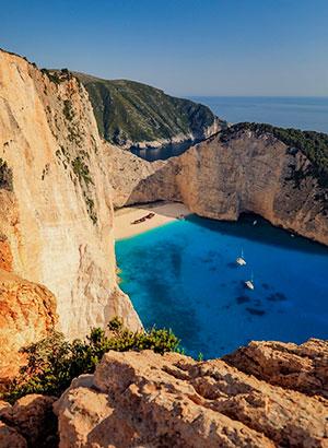 Vakantiegeld bestemmingen Zakynthos