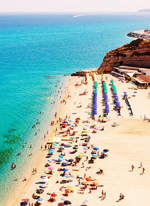Zon juni bestemmingen: Calabrië