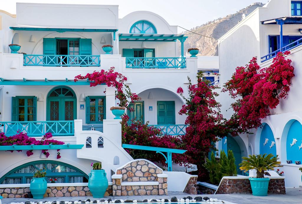 Vakantie Cycladen: Villa Vergina, Santorini