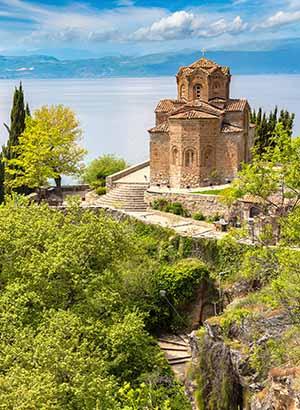 Doen in Ohrid, Macedonië: Sveti Jovan Kaneo