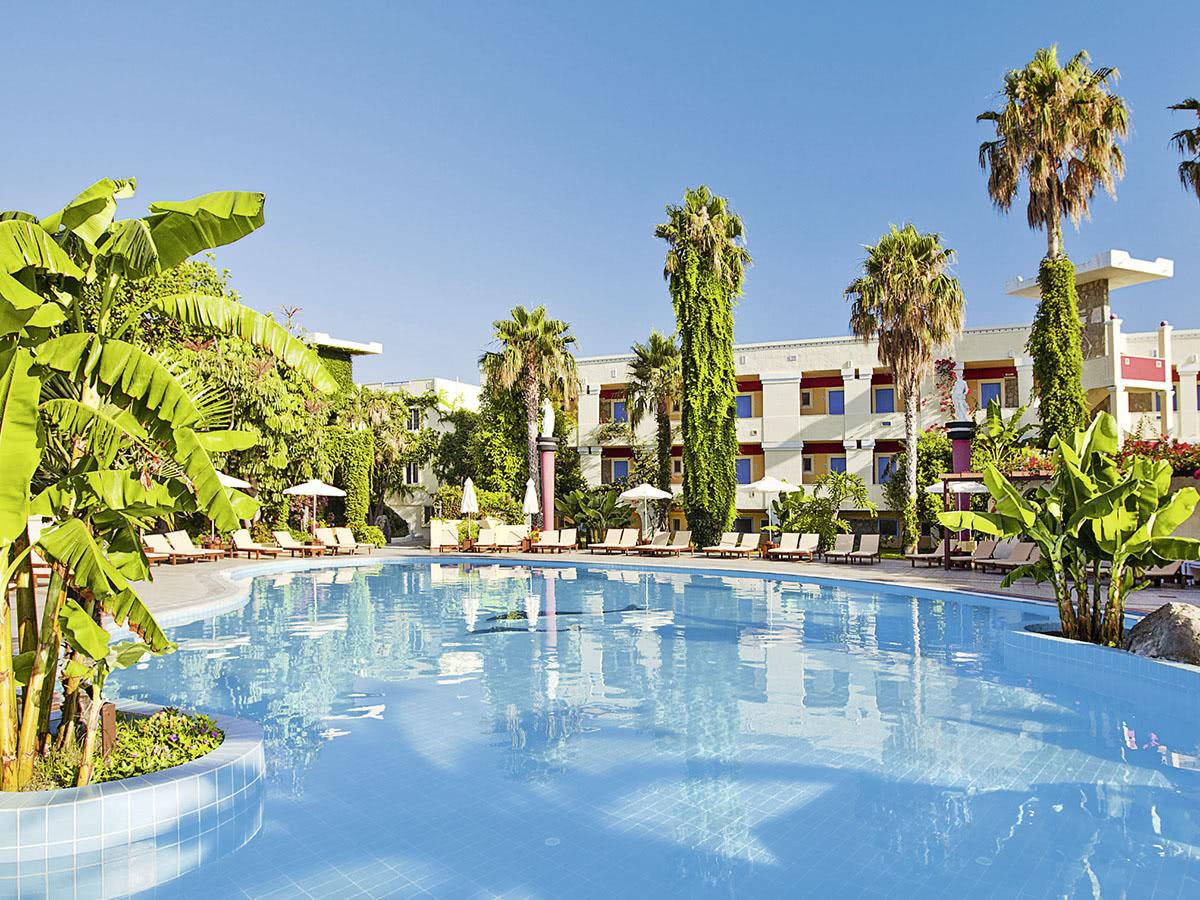 Zonvakantie in juli: Kos, Apollon Hotel
