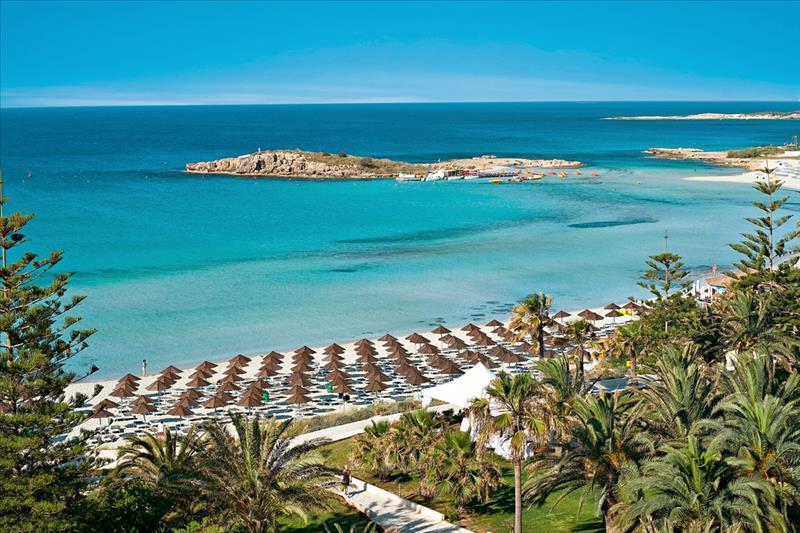 Zonvakantie in juli, Nissi Beach Resort, Cyprus