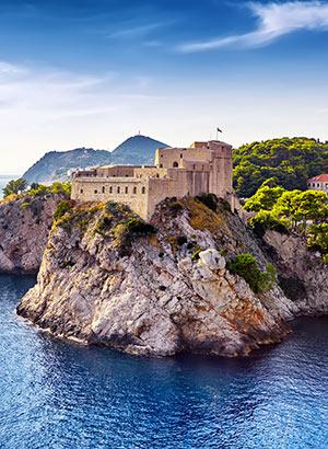 Bezienswaardigheden Dubrovnik: Fort Lovrijenac
