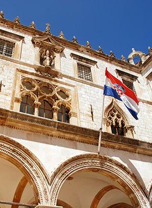 Bezienswaardigheden Dubrovnik: Sponza Palace