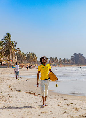 Doen in Gambia: strand
