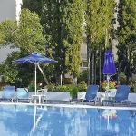 Badplaatsen Corfu: Ipsos, Ipsos Beach Hotel