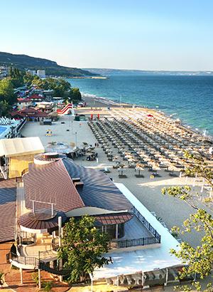 Leukste badplaatsen Bulgarije: Sunny Beach