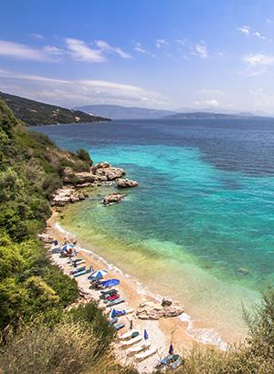 Leukste badplaatsen Corfu: Ipsos