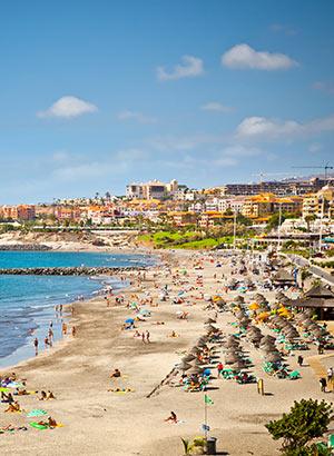 Leuke badplaatsen Lanzarote, waar verblijven: Playa de las Americas