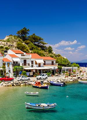 Leukste badplaatsen Samos: Kokkari
