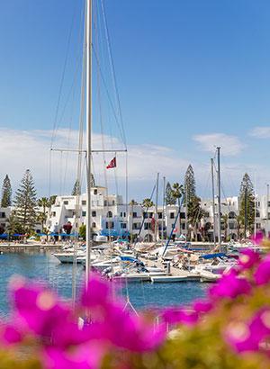 Port el Kantaoui: haven