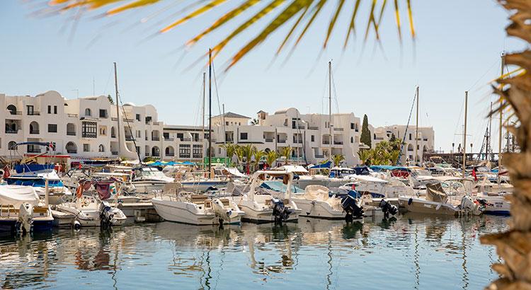 Port el Kantaoui, luxe vakantie Tunesië