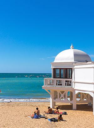 Underdog Cadiz, Andalusië: strand