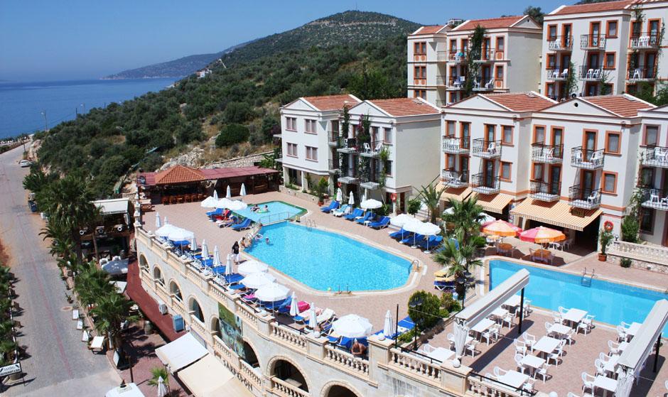 Mooiste stranden Turkije: Kaputas Beach, Hotel Pirat