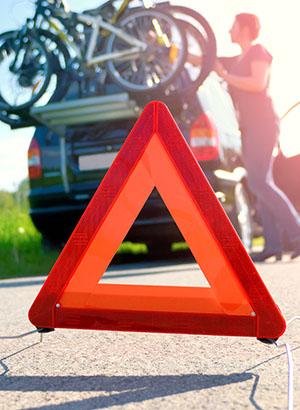 Autovakantie Frankrijk - Praktische tips, gevarendriehoek