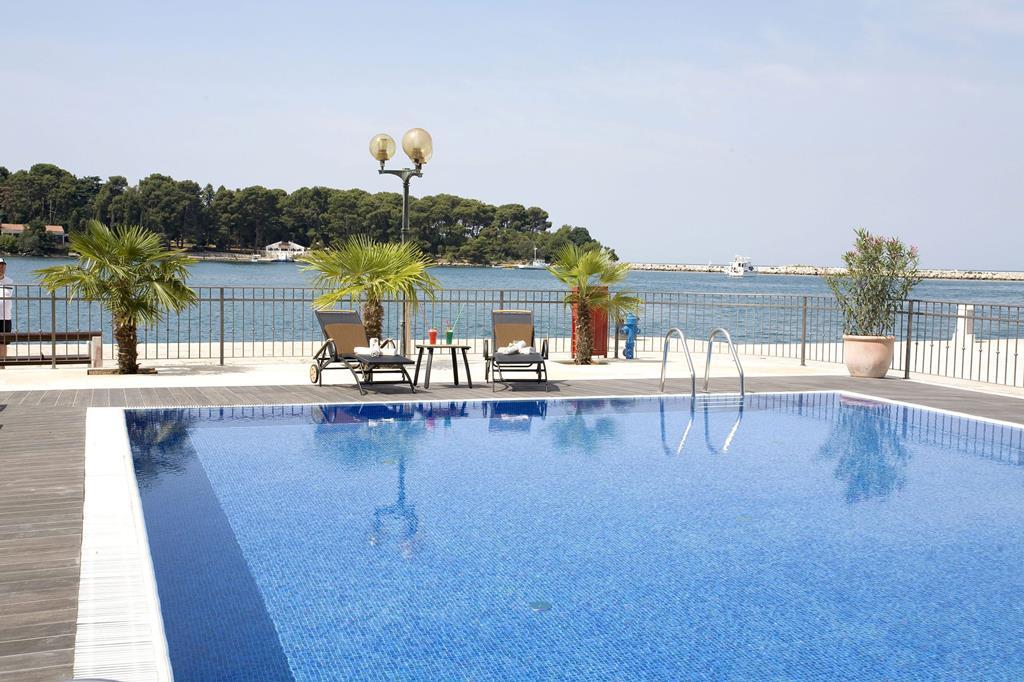 Zon in augustus: Porec, Grand Hotel Palazzo