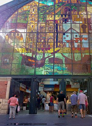 Gratis doen in Málaga, markt