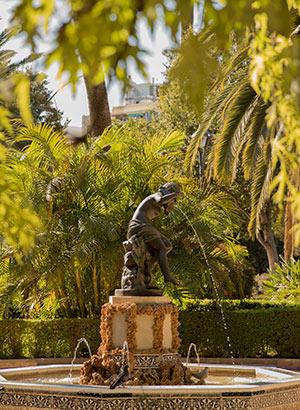 Gratis doen in Málaga: park