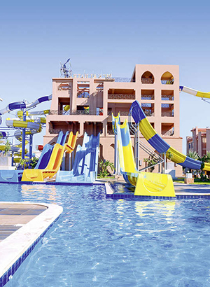 Hotels Egypte met waterpark: Albatros