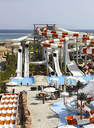 Hotels Egypte met waterpark: Coral Sea Waterworld