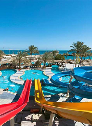 Hotels Egypte met waterpark: Sindbad Aqua Park Resort & Aqua Hotel