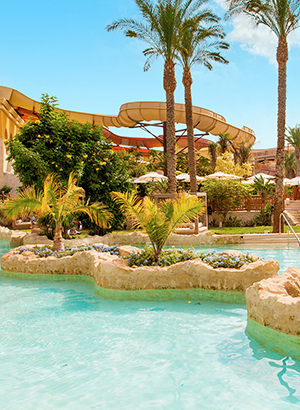 Hotel Egypte met waterpark: Sunwing Waterworld Makadi
