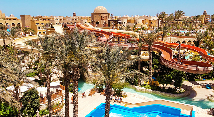 Hotels Egypte met waterpark