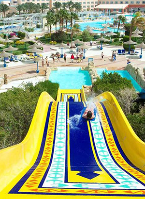 Hotels Egypte met waterpark: Titanic Aqua Park Resort