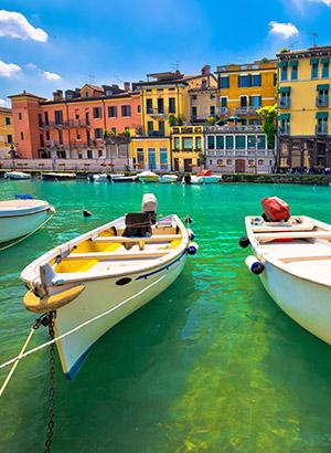 Leukste badplaatsen Gardameer: Peschiera del Garda