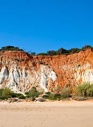 Mooiste stranden Portugal: Praia da Falesia