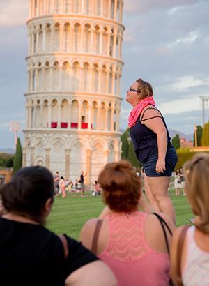 Toren van Pisa kussen