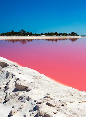 Mooiste roze meren ter wereld, Mexico