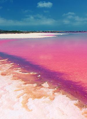 Mooiste roze meren ter wereld, Spanje