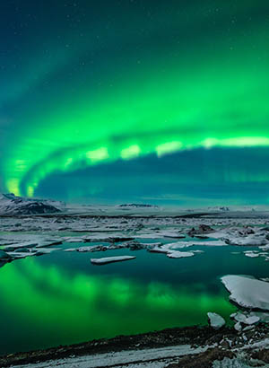 Verrassend weg in de kerstvakantie: IJsland