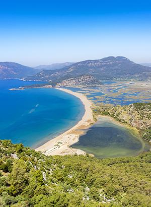 Favoriete vakantiebestemmingen Turkije: Iztuzu Beach