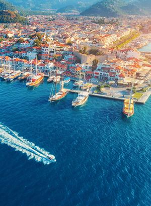 Favoriete vakantiebestemmingen Turkije: Marmaris