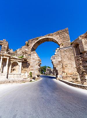 Favoriete vakantiebestemmingen Turkije: Side