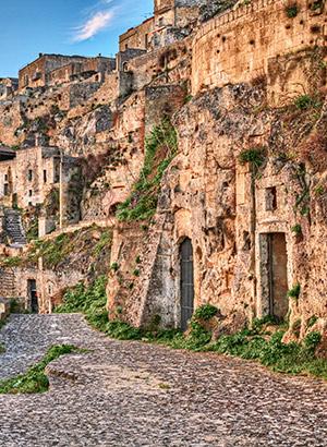 Grotwoningen Matera (Italië): culturele hoofdstad 2019