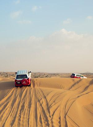 Handleiding Dubai: Jeepsafari