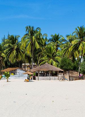 Weetjes Senegal: strand