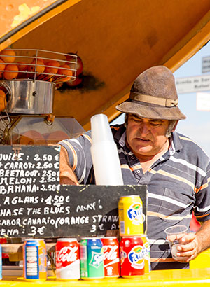 Zondagsmarkt Teguise, Lanzarote