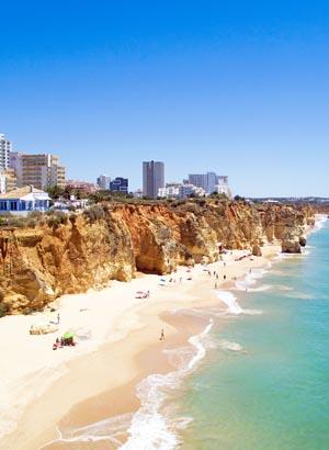 Ontdek de Algarve: Praia da Rocha