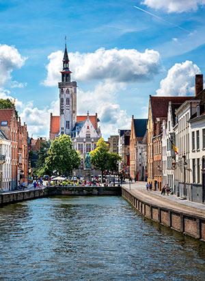 Belgische steden najaar: Brugge