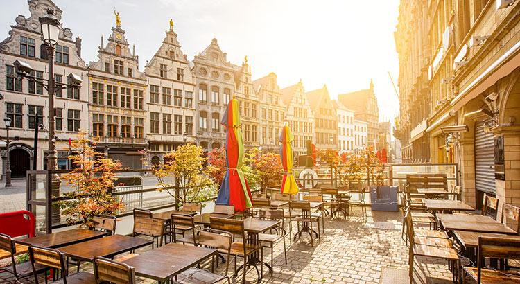 Belgische steden najaar